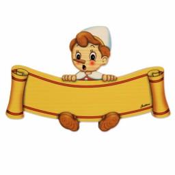 Targa Piccola Pinocchio...