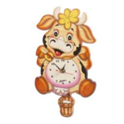Medium Wall Cow Clock