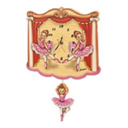 Standard Dancers Clock