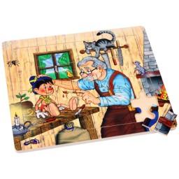 Puzzle con cornice Officina...